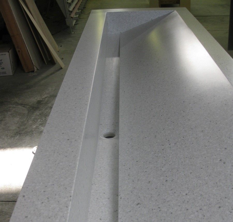 Corian® Commerical Trough Sink