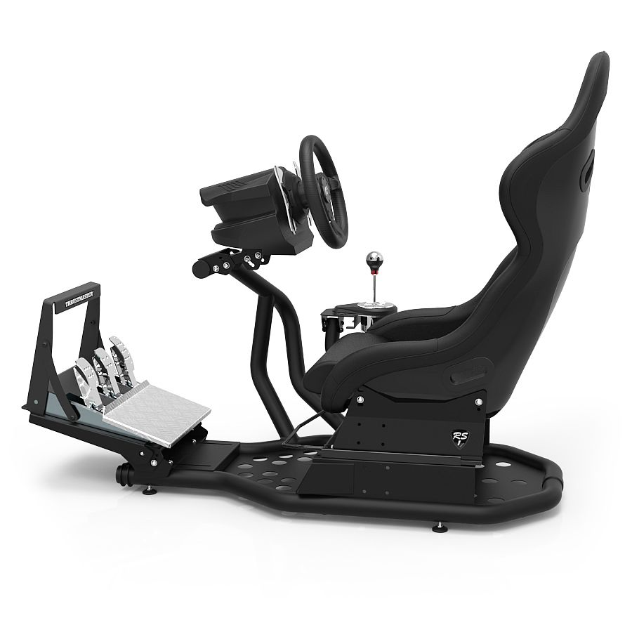 rseat rs1 black black 11 simulator seats pinterest. Black Bedroom Furniture Sets. Home Design Ideas