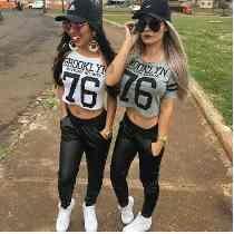 Cropped Blusa Camiseta Feminino Hip Hop Brooklyn Ny 76 Kings Com