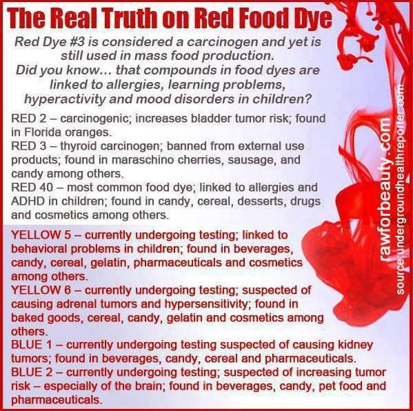 The truth about food dyes | Health Tips | Red food dye, Food ...