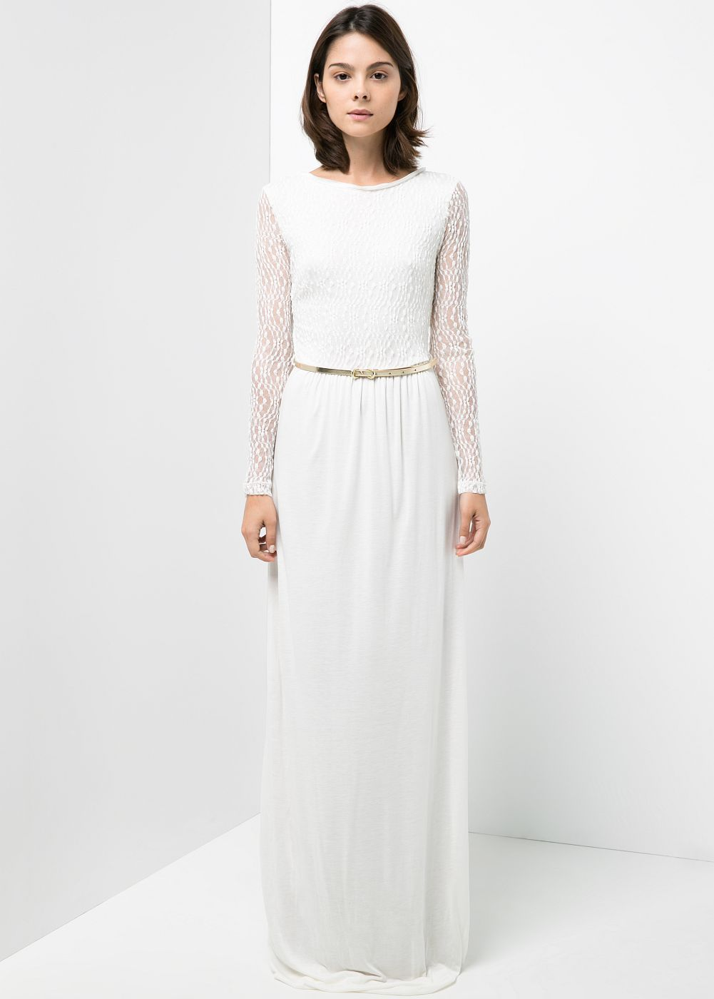 Blond lacetop dress women lace top dress winter wedding ideas