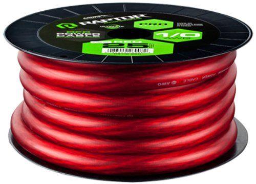 Raptor R51 0 25r 25 Fete Pro Series Oxygen Free Copper Power Cable Red Pro Series Power Cable Oxygen Free Copper 1 0 Awg 25 Classic Cars Power Cable Raptor