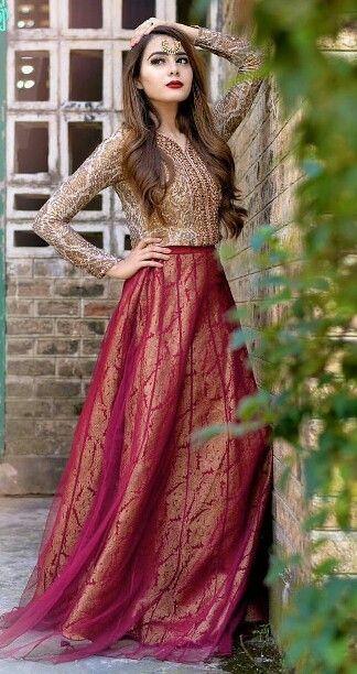 Beautiful Lengha   Pakistani Bridal Dresses, Pakistani -4632