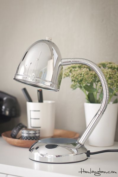 table lamp chrome from lisbeth dahl my online store pinterest chrome. Black Bedroom Furniture Sets. Home Design Ideas