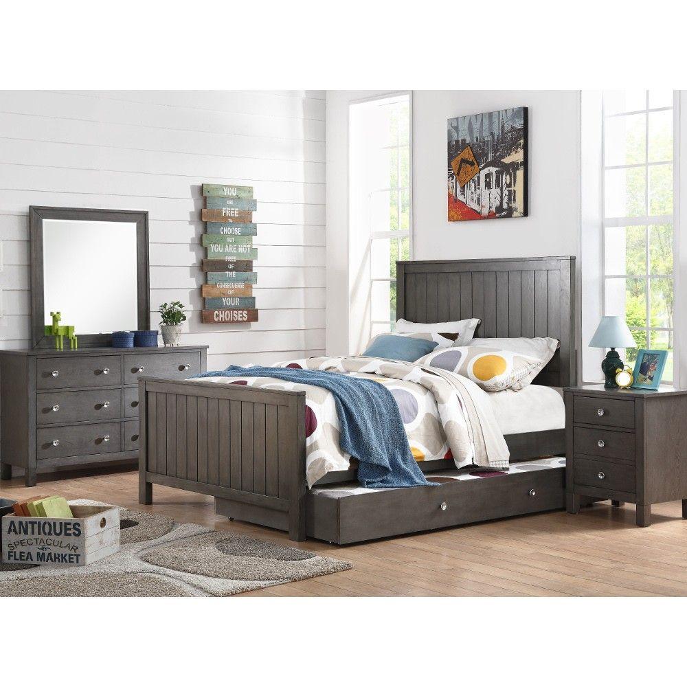 Quiz grey bedroom bed dresser u mirror full dream