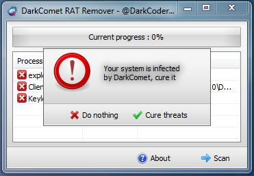 DarkComet RAT Remover Released Free Download | hacking tutorials