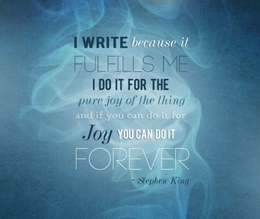 For the Joy of It! ☺️  #amwriting #amreading #authors #readers #bookworms #Penned #Inspiration #motivation