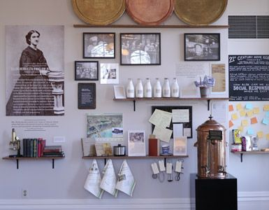 A new food exhibit at the Jane Addams Hull-House Museum, plus dinner at Nightwood.