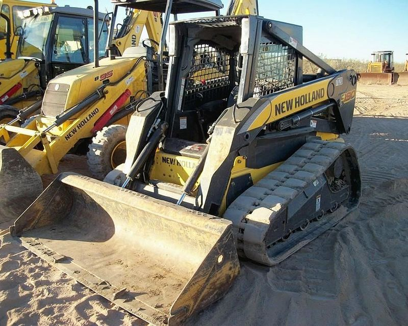 2009 New Holland C190 skid steer loader from Cisco