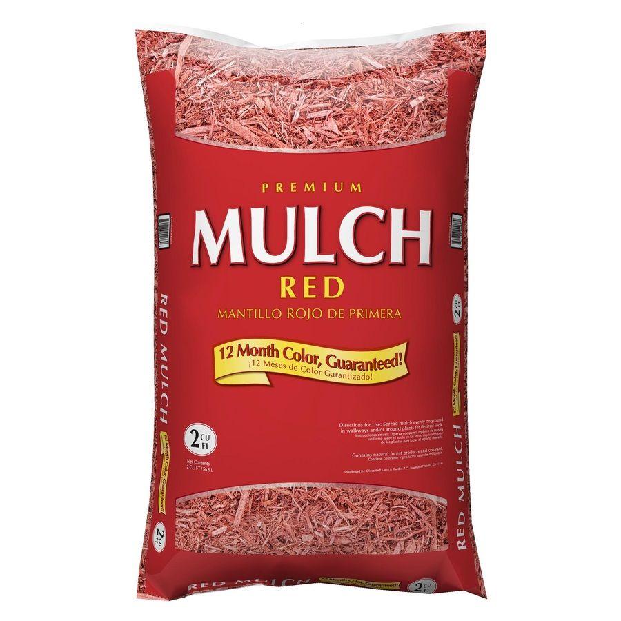 Premium 2 Cu Ft Red Hardwood Mulch Lowes Com Hardwood Mulch Mulch Brown Mulch