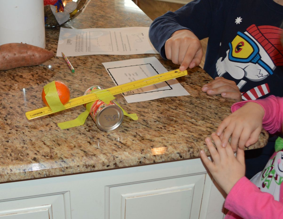 Making Simple Machines With Household Items A Hands On