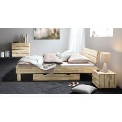 Photo of Futon bed / solid wood bed pine solid wood solid nut colors A10, incl. Slatted frame – dimensions 140 x – https://bingefashion.com/home