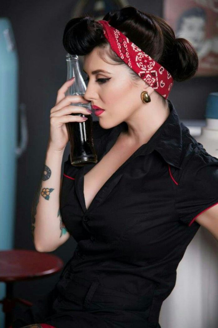 ▷ 1001 + bandana tie ideas and hairstyles for summer