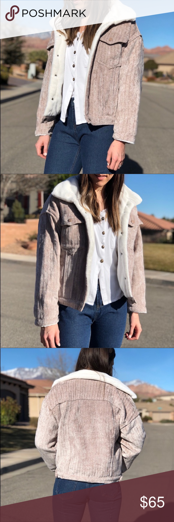 a1aae70c4e3 HOST PICK Chunky Oversized Corduroy Coat The perfect vintage look in a  modern color🤪 sooo soft and extremely warm!! Would be so cute with  virtually any ...