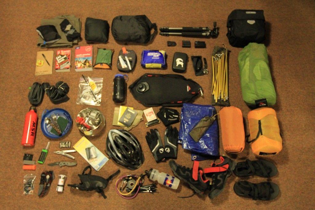 Camp Gear Hiking List