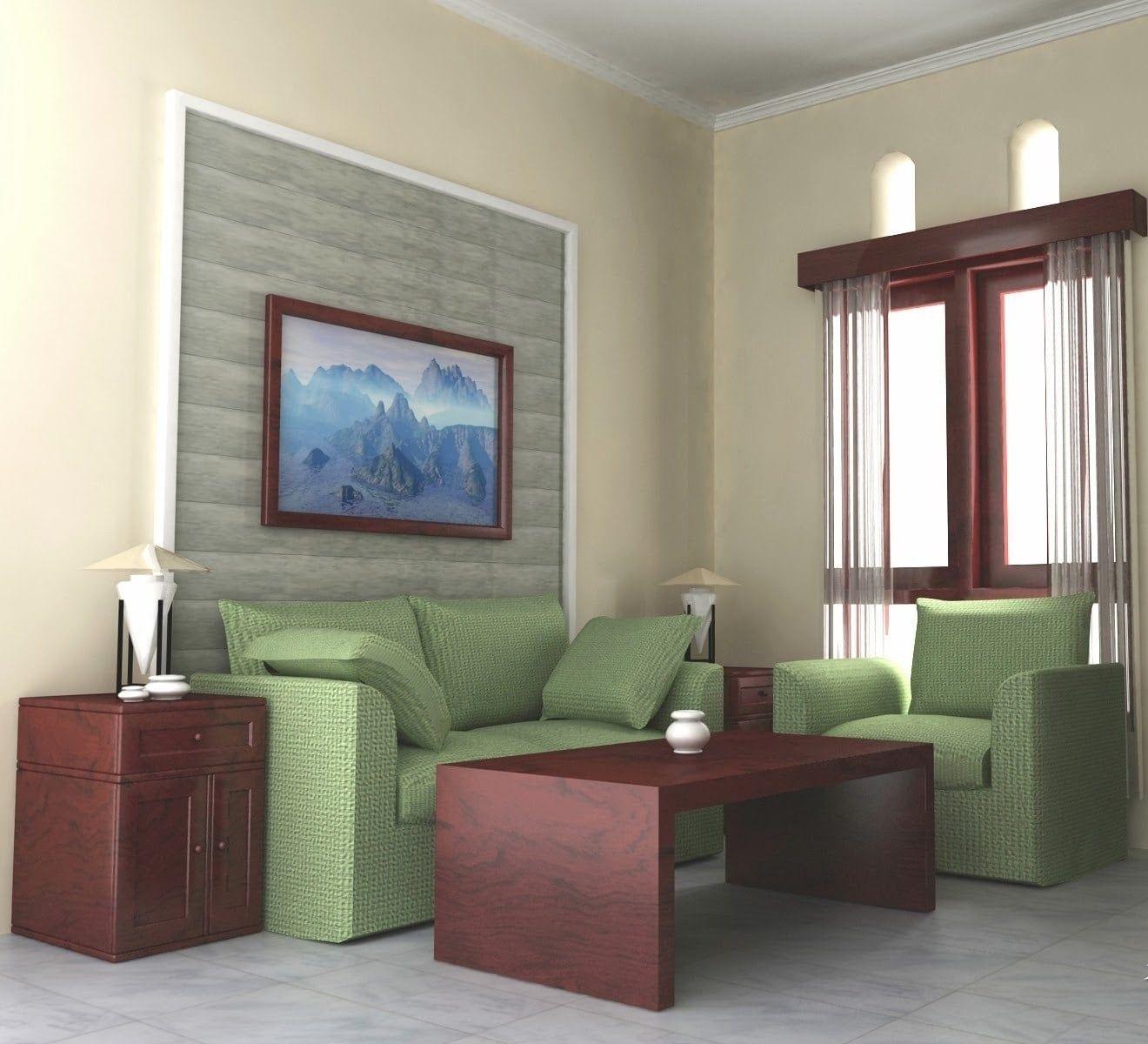 Desain Dekorasi Ruang Tamu Ukuran 2x3 In 2020 Small Living Room