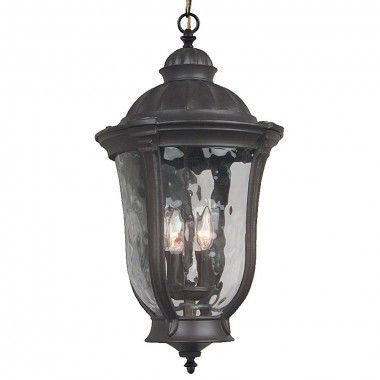 Craftmade Exterior Lighting Frances Medium Exterior Hanging Lantern in Oiled Bronze - Z6011-92
