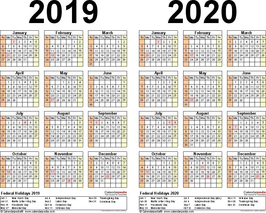 2020 Calendar With Federal Holidays Printable Pleasant In Order To The Website With This Tim Calendar Printables Calendar Template Printable Yearly Calendar