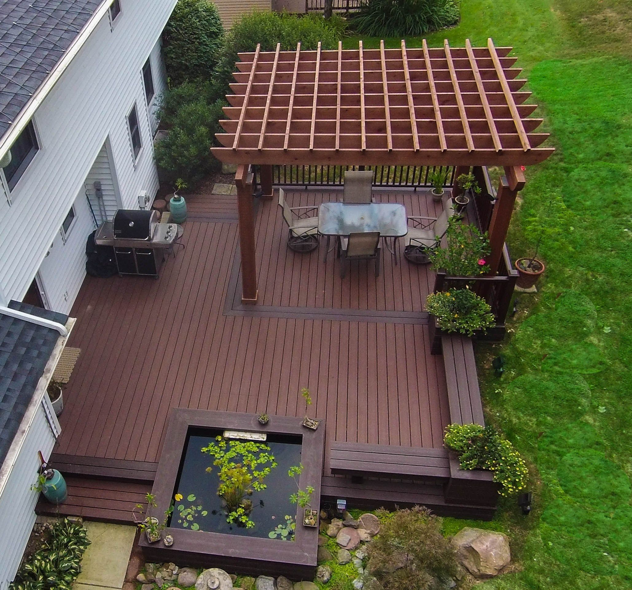 ground level deck picture 3946 backyard 39 s