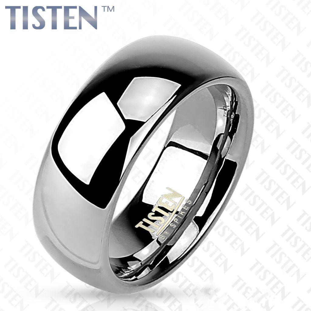 6mm Classic Wedding Band Glossy Mirror Polished Tisten Tungsten Titanium Ring: Wide Wedding Bands Skull At Websimilar.org