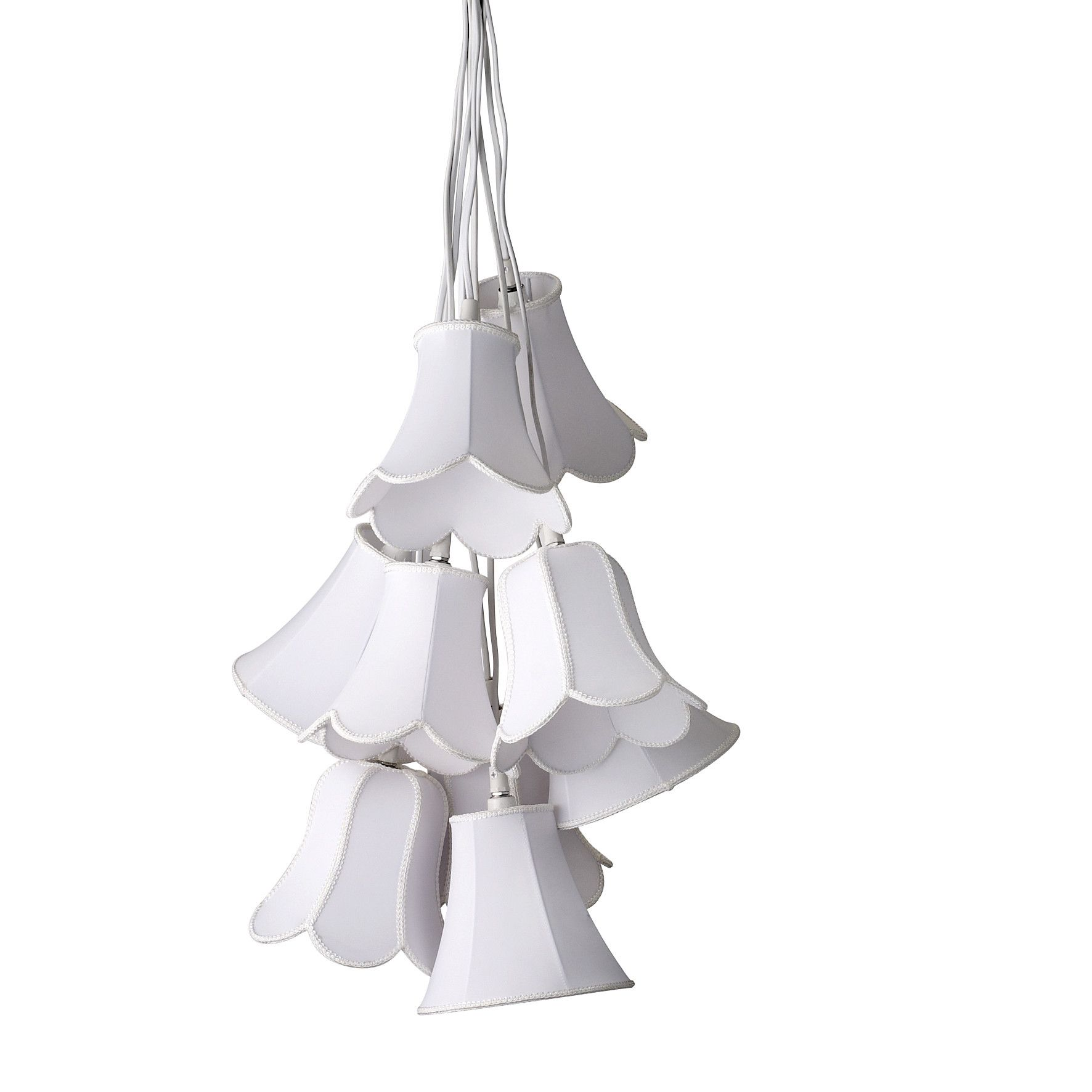 Bloomingville White Flower Pendant Light Add Vintage Charm To Your