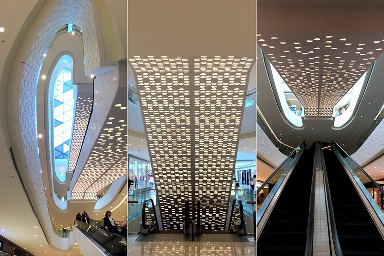 VADISTANBUL SHOPPING CENTER INTERIORS, ISTANBUL, TURKEY - Picture gallery