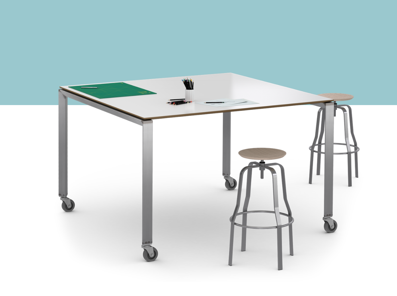 Artsy Meeting Table By Watson Meeting Table Office Table Desk Office Table [ png ]
