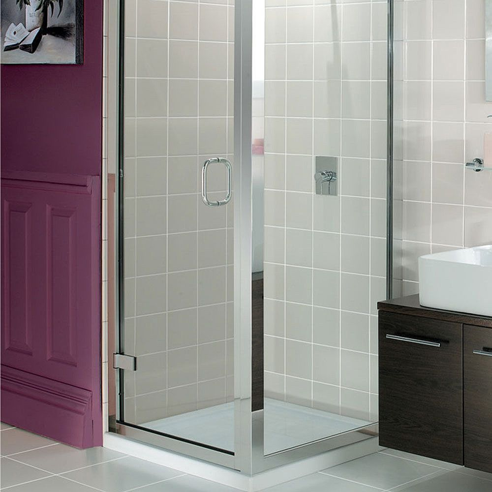 simpsons classic side panel view more shower enclosures