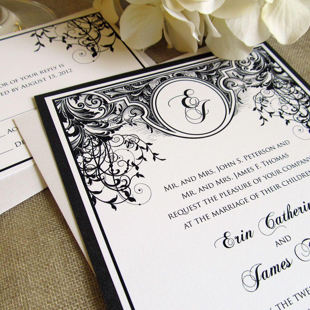 Custom Listing for Yesenia | Wedding Invitations | Pinterest | Art ...