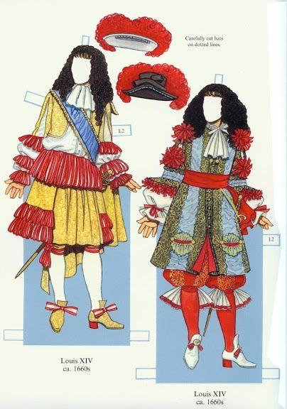 Louis XIV and his Court (Tom Tierney) - Yakira Chandrani - Picasa Webalbum