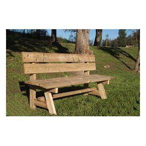 Asientos rusticos para jardin buscar con google hojas - Bancos de madera rusticos ...