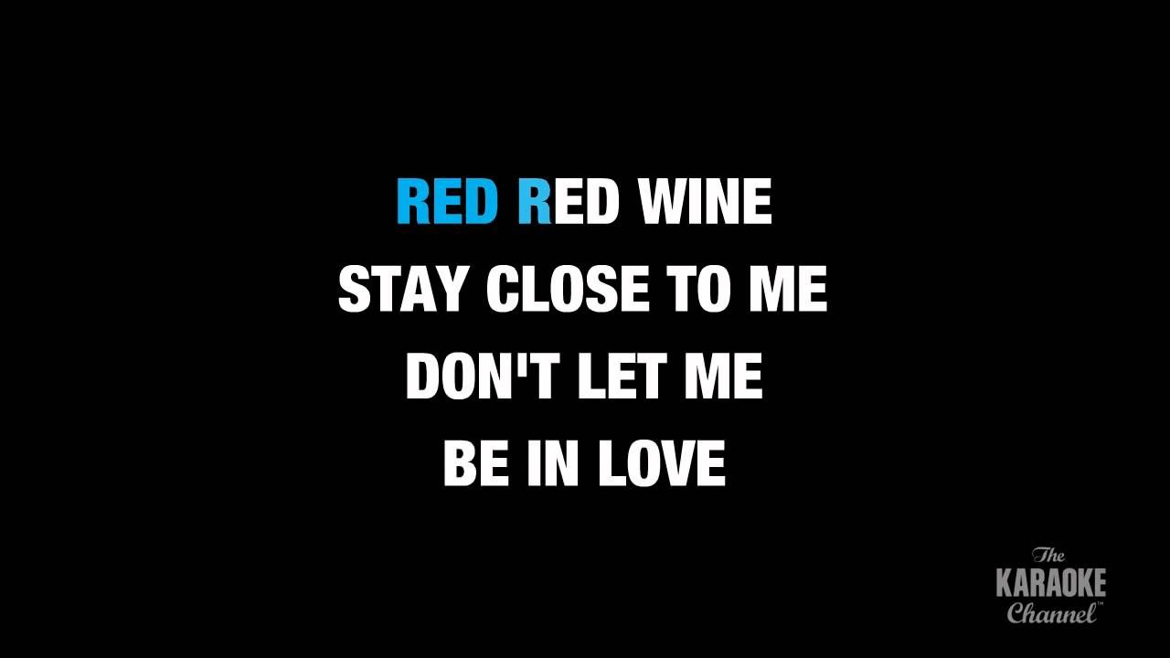 Red Red Wine in the Style of
