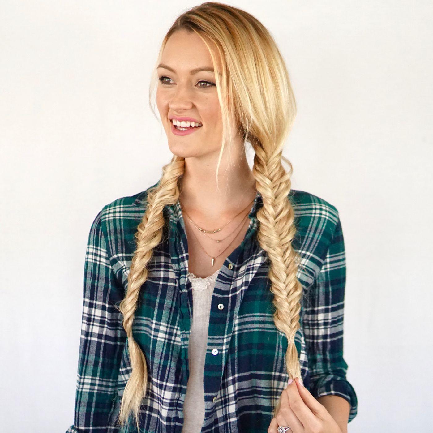 fishtail pigtails | braids | pinterest | fishtail, cashmere hair