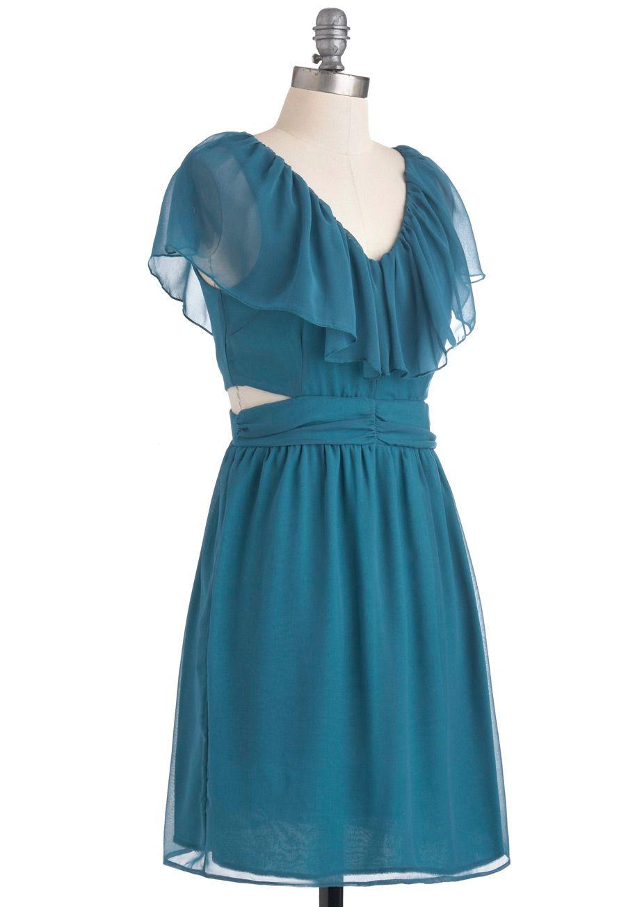 Ethereal Enchantment Shirt Dress   Sea level, Mid length and Dress blues