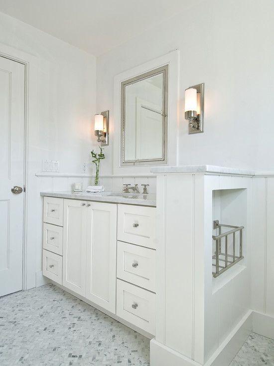 Suzie Hampton Design Gorgeous Guest Bathroom With