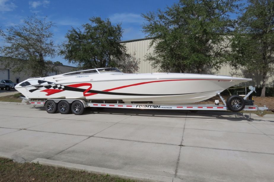 Fountain Boats For Sale >> 2009 Fountain 42 Lightning Power Boat For Sale Www Yachtworld Com
