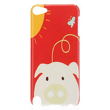 Cute Piggy Pattern Protective Hard Case for iPod Touch 5