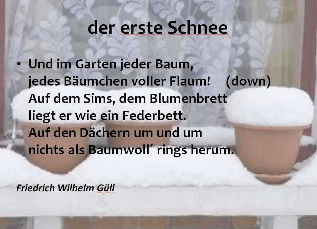 Lesson Plan Around The German Winter Poems Wintergedicht