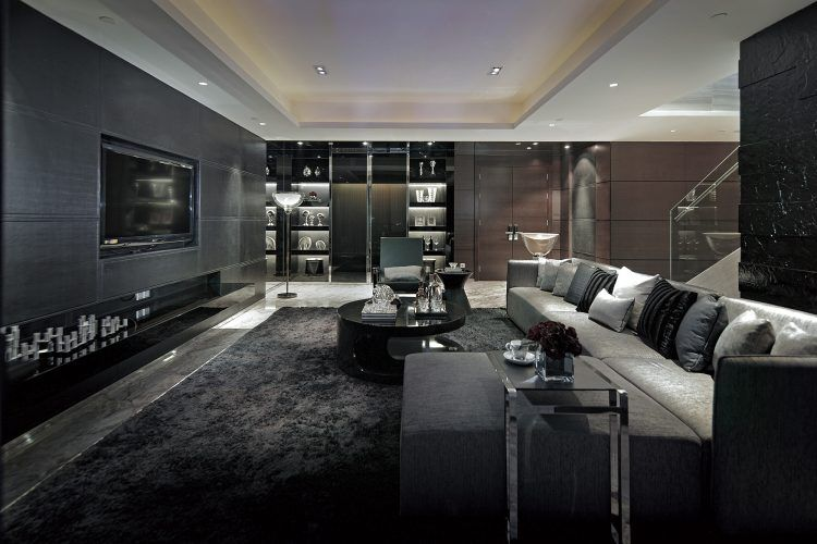 10 Amazing Black Living Room Ideas And Designs Luxury Living