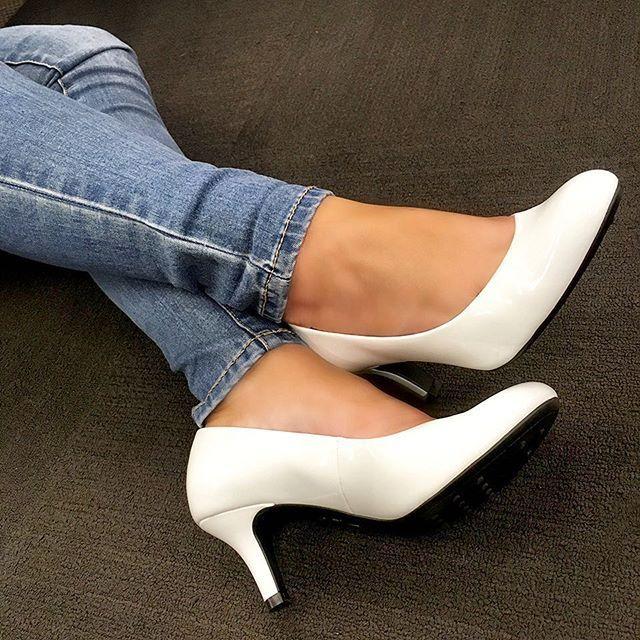 3eb8f924c5bc LifeStride PARIGI  shoeshopping  shoeday  onedaysale  whitepumps ...