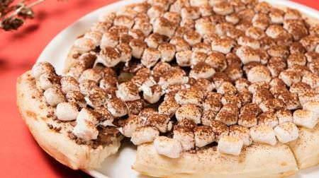 ティラミスピザやチーズケーキクレープもマックスブレナーに冬を彩るホリデーメニュー