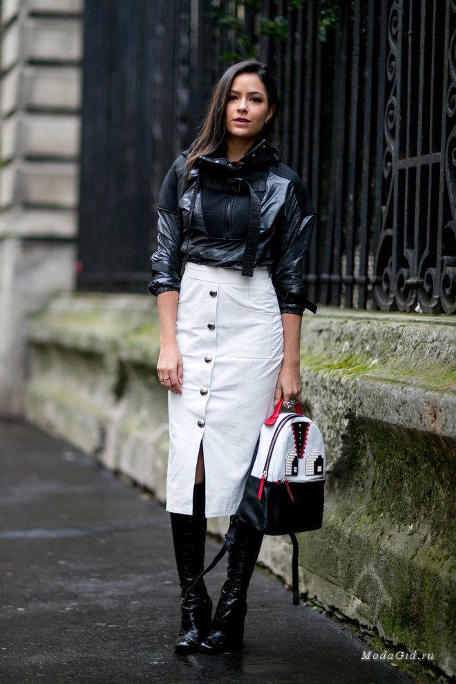 4b6f7214a63a Уличная мода  Уличный стиль недели моды в Париже сезона осень-зима 2016-2017