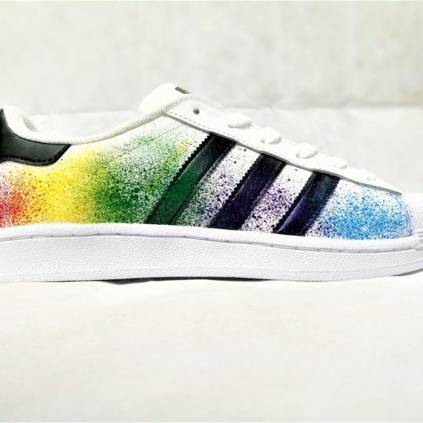 Adidas Color Splash Superstar - Double G Customs - Chaussures personnalisées