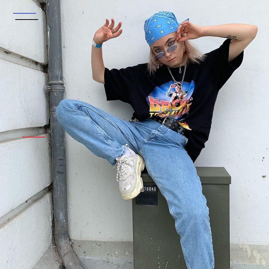80er Style Klamotten