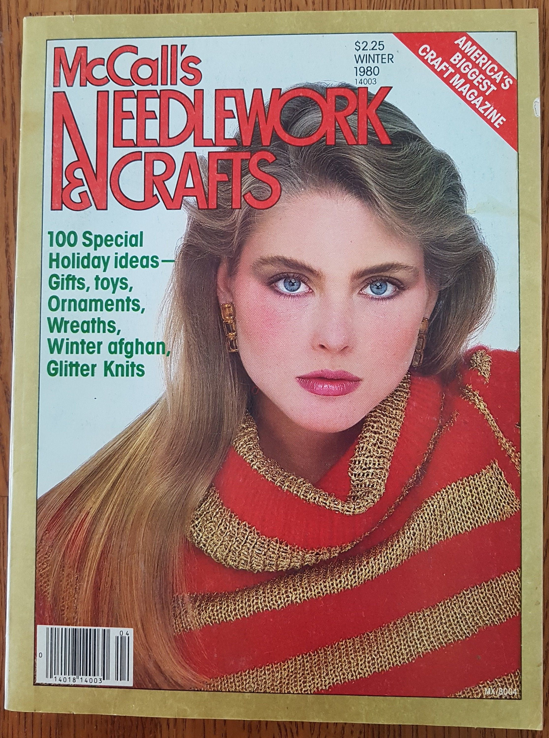 Vintage Holiday Gifts And Crafts Magazine-1993