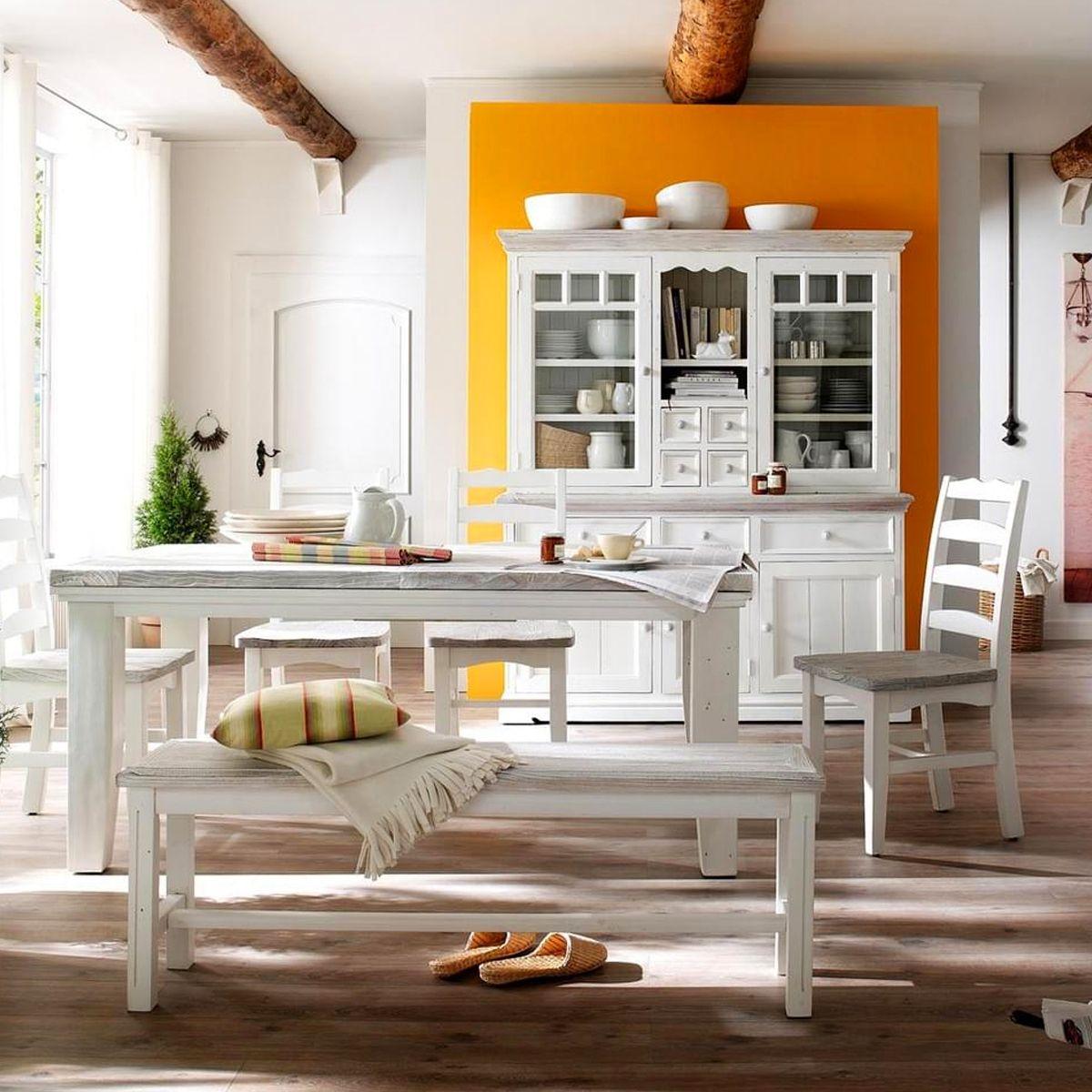 Vitrine Aus Massivholz Im Landhausstil. #landhaus #küche #möbel #cottage  #wohnen