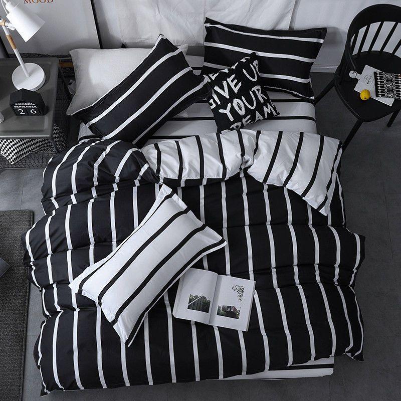 Single Queen King Bett Set Kissenbezug Bettbezug Cover