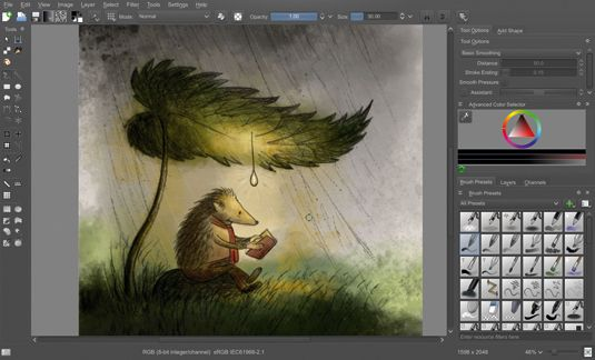 Paint like a pro with free digital art software | Creative ...