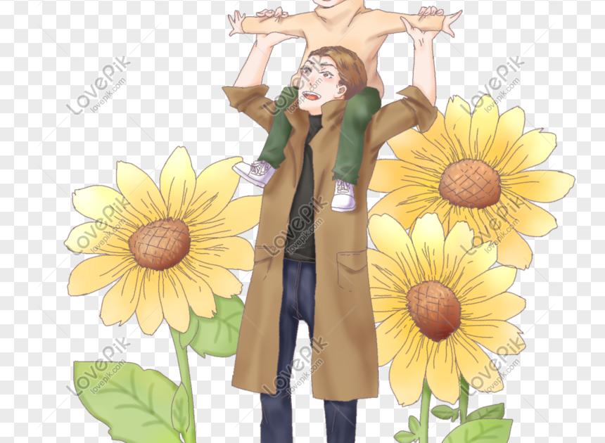 25 Gambar Bunga Matahari Versi Kartun Karakter Kartun Bermain Di Bunga Matahari Musim Gugur Gambar Download Gambar Kartun Bunga Mataha Di 2020 Gambar Kartun Bunga