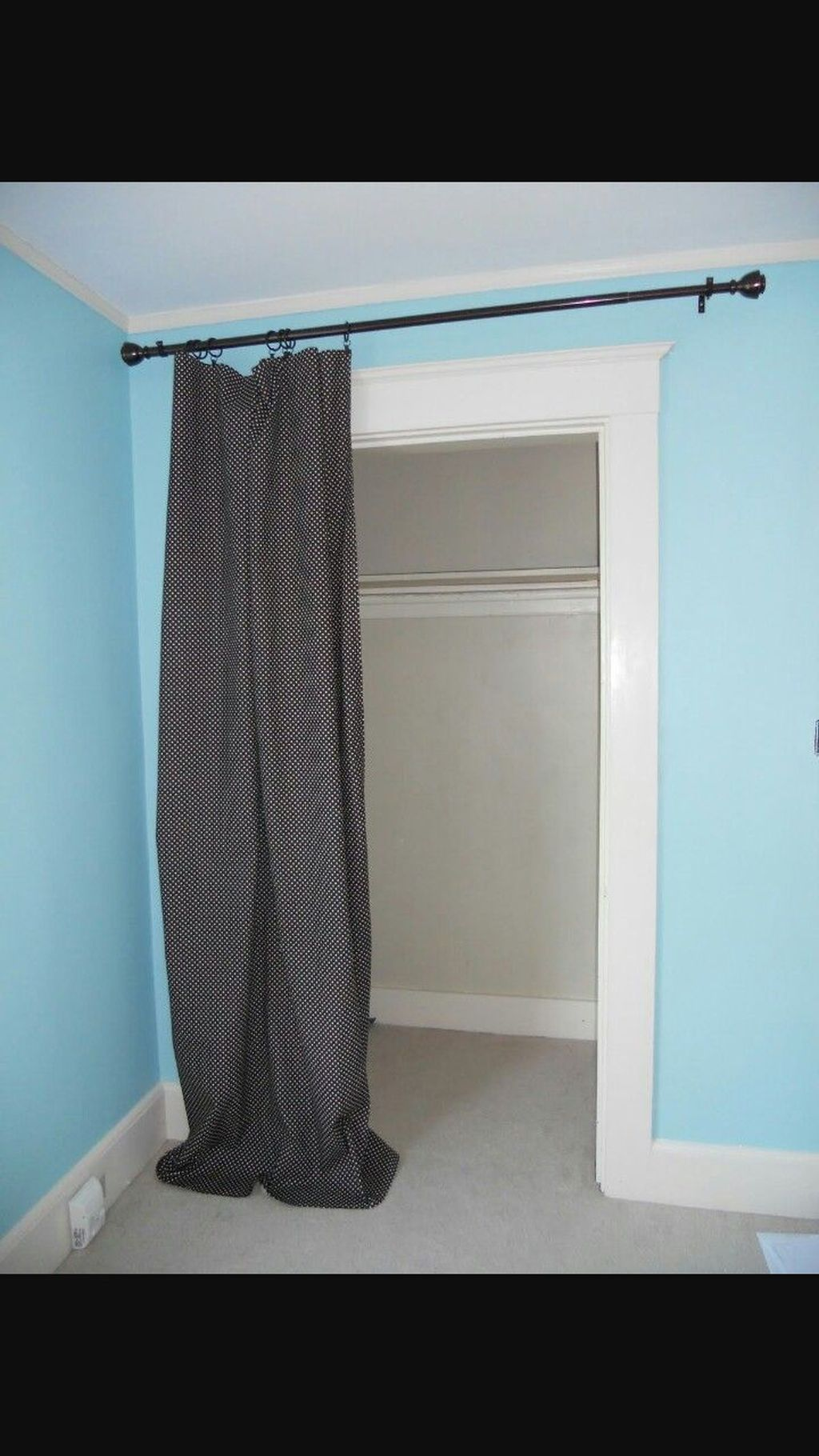 20+ Awesome DIY Closet Door Curtains Ideas Curtains for